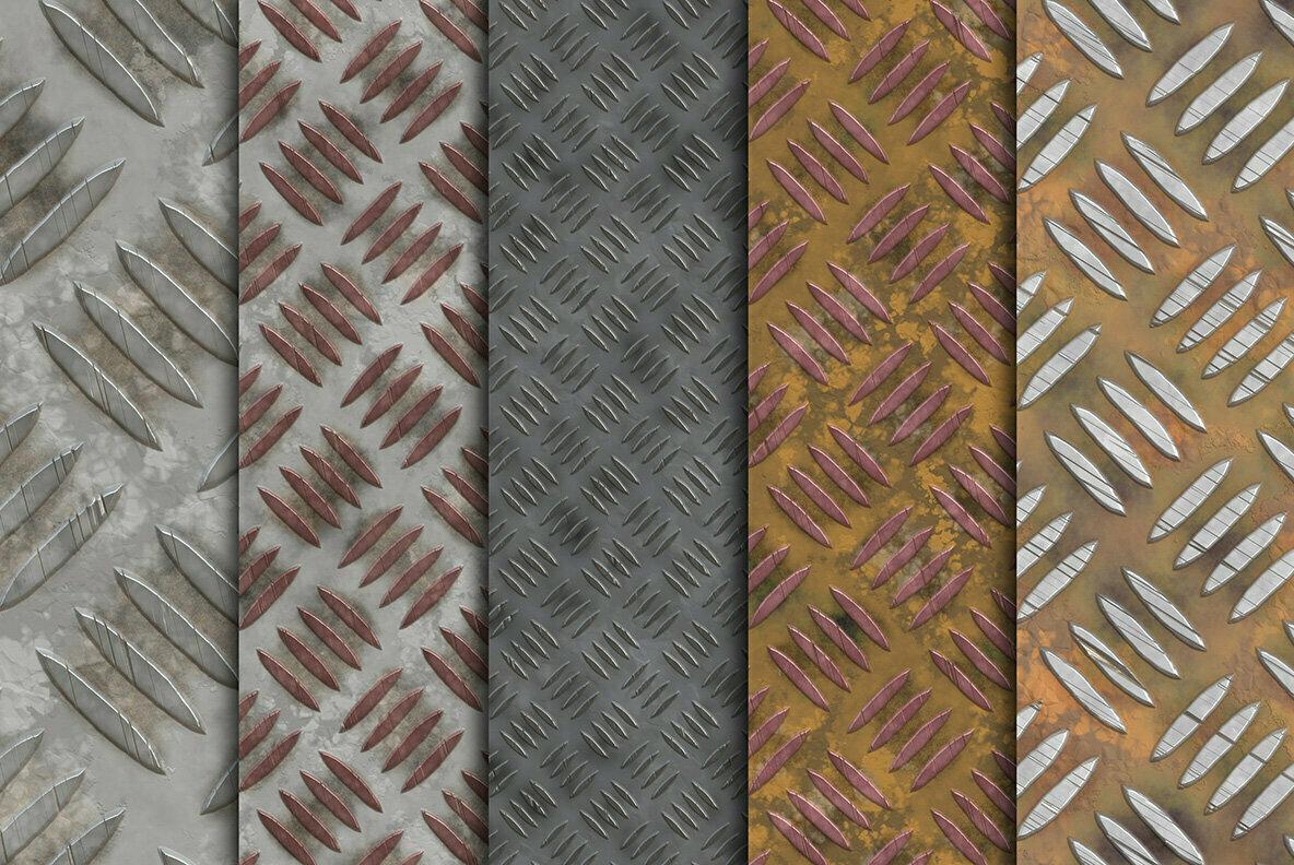 Diamond Plate Textures 2