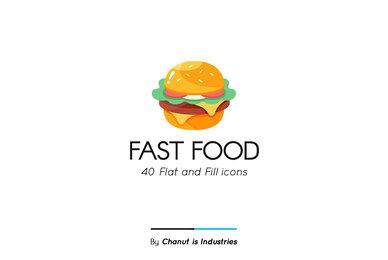 Fast Food Premium Icon Pack