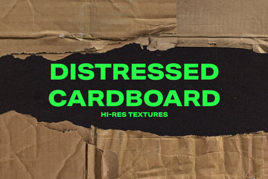 Distressed Cardboard Textures