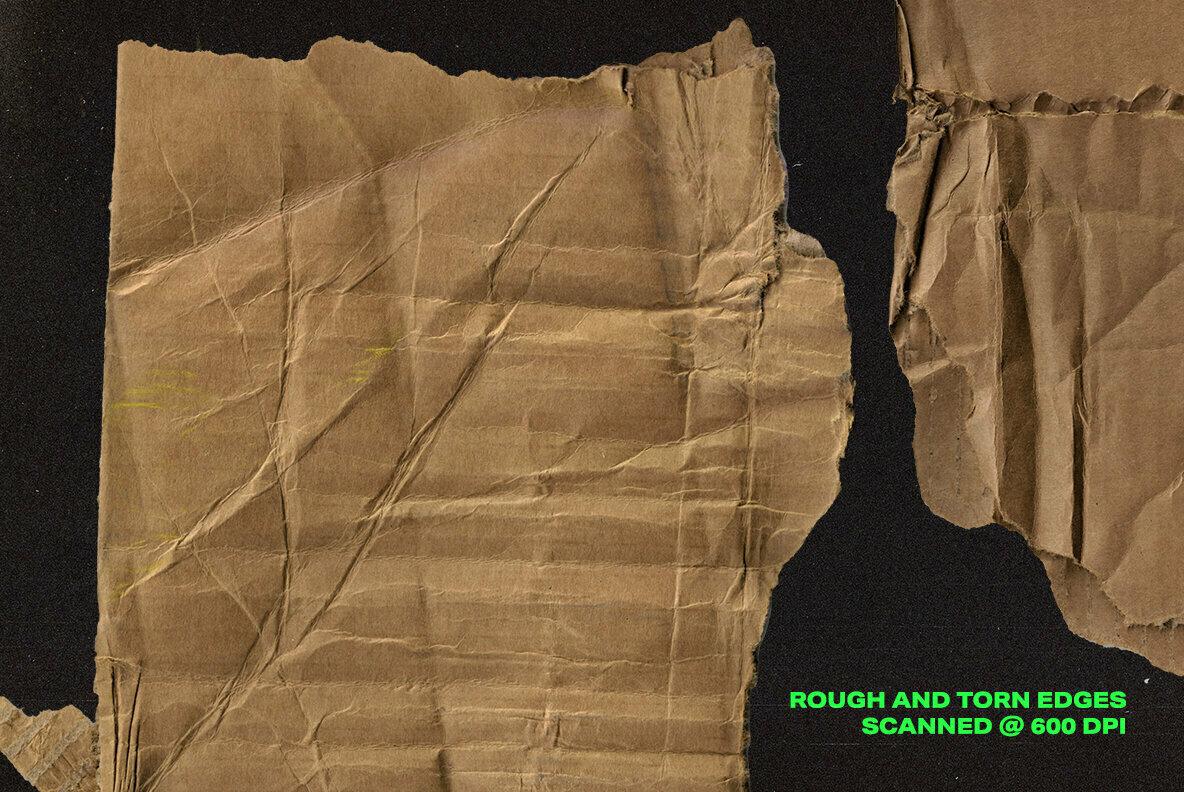 Distressed Cardboard Textures