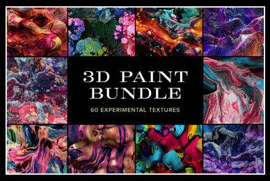 3D Paint Bundle     60 Experimental Textures