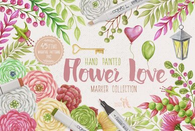Flower Love Elegant Kit