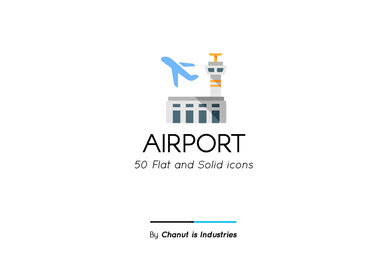 Airport Premium Icon pack