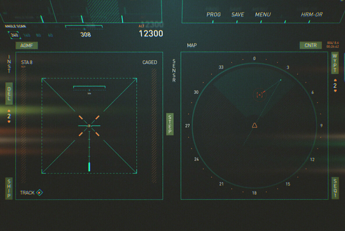 AVIATICO   HUD Futuristic UI Elements Pack