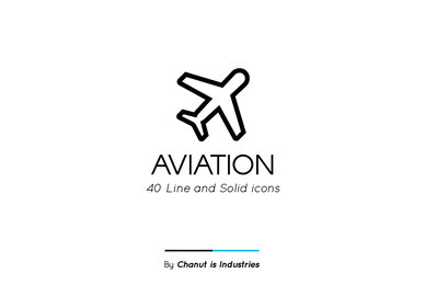 Aviation Premium Icon Pack