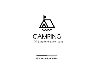 Camping Premium Icon Pack