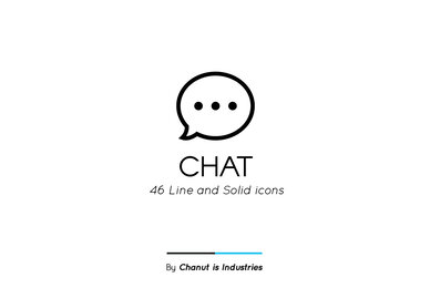 Chat Premium Icon Pack