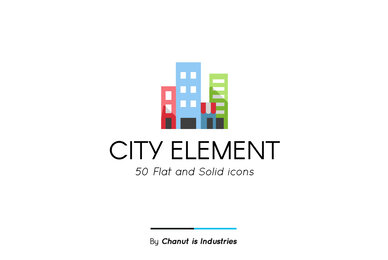 City Element Premium Icon Pack