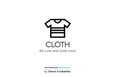 Cloth Premium Icon Pack
