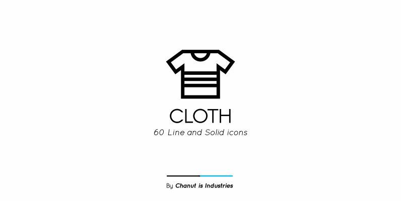 Cloth Premium Icon Pack
