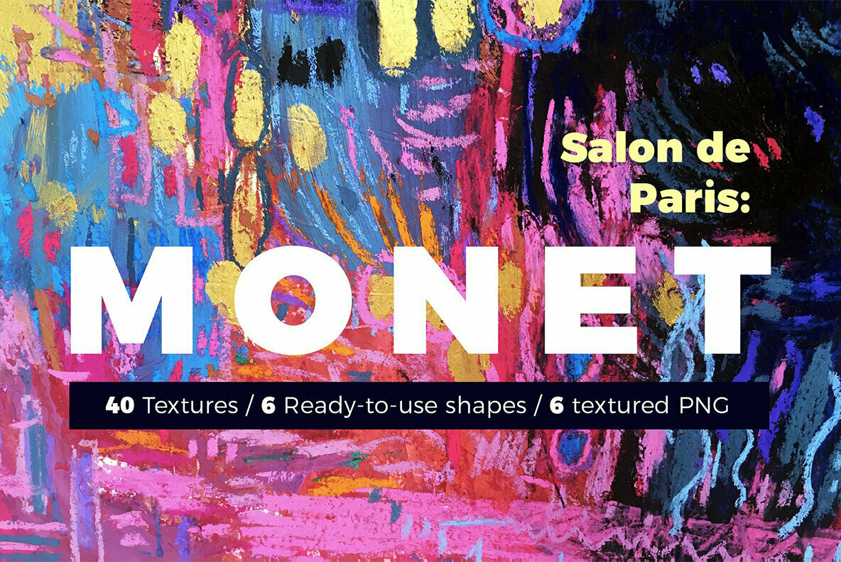 MONET   Wavy Watercolor Pastel Abstract Backgrounds