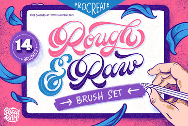 Rough  Raw Brush Set
