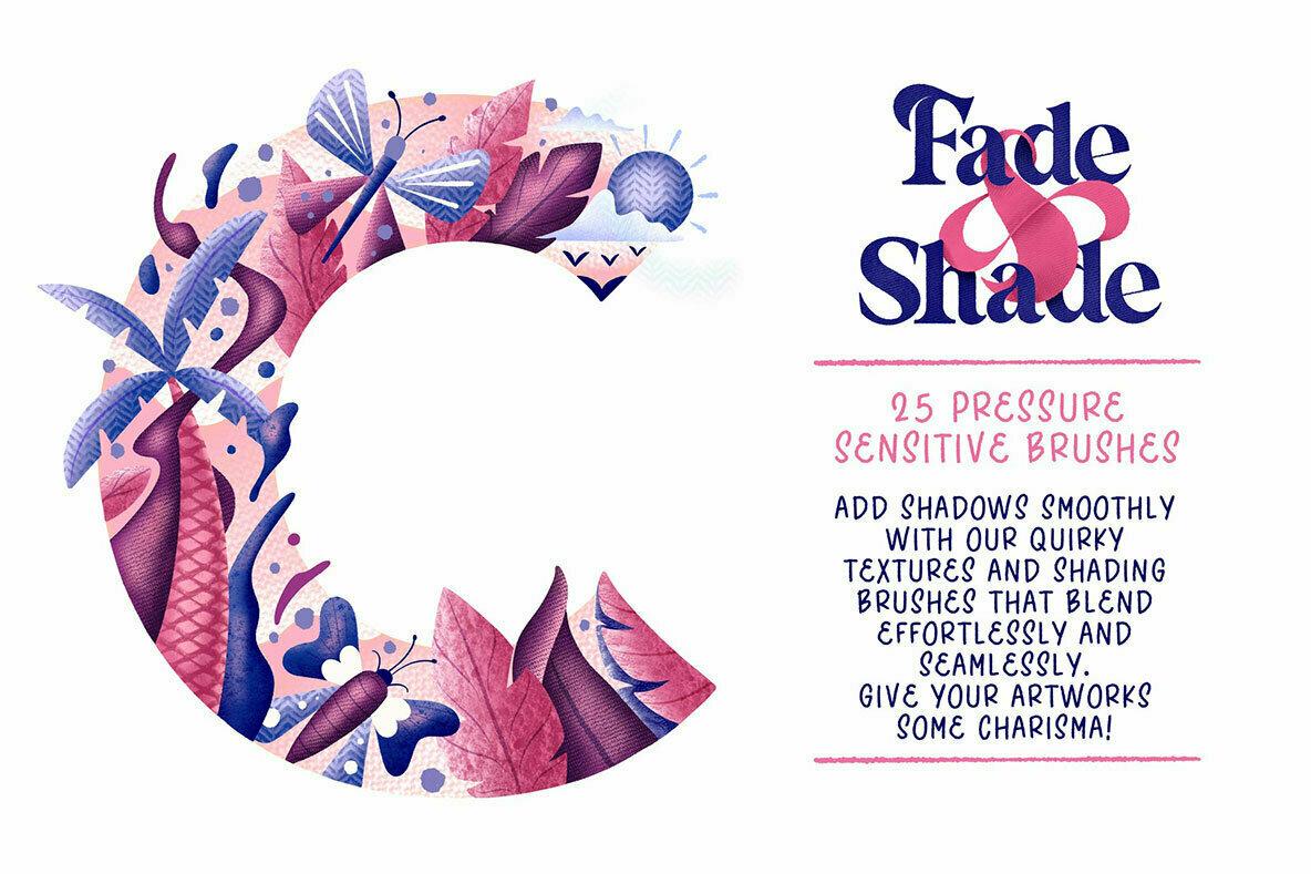 Fade   Shade Brush Set