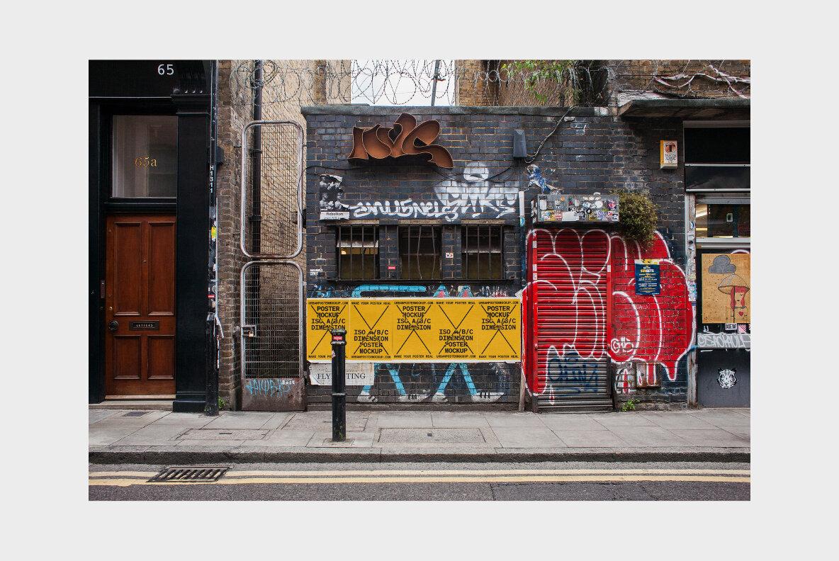 Urban Poster Mockup Vol 3