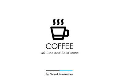 Coffee Premium Icon Pack