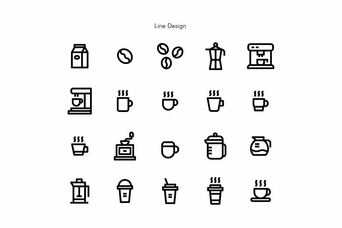 Coffee Premium Icon Pack