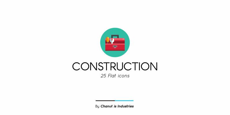 Construction Premium Icon Pack