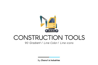 Construction Tools Premium Icon Pack