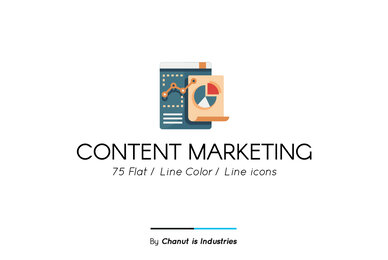 Content Marketing Premium Icon Pack