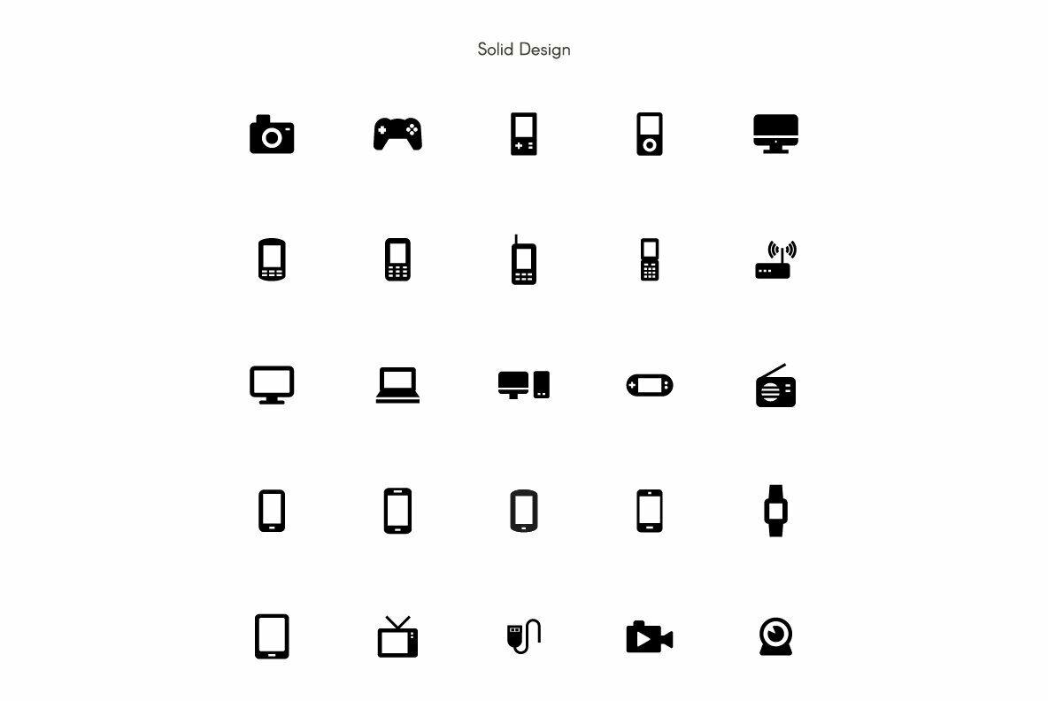 Device Premium Icon Pack
