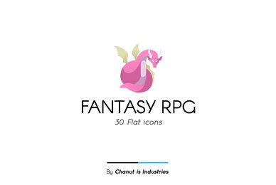 Fantasy RPG Premium Icon Piack