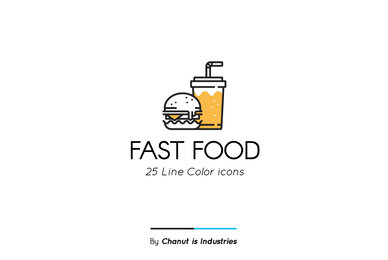 Fast Food Premium Icon Pack 02
