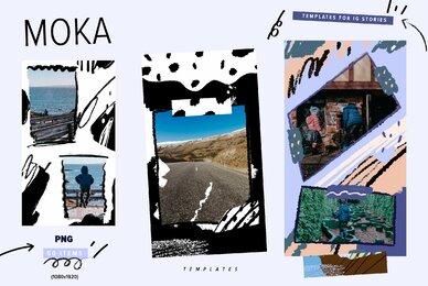 Moka   Templates Instagram Stories