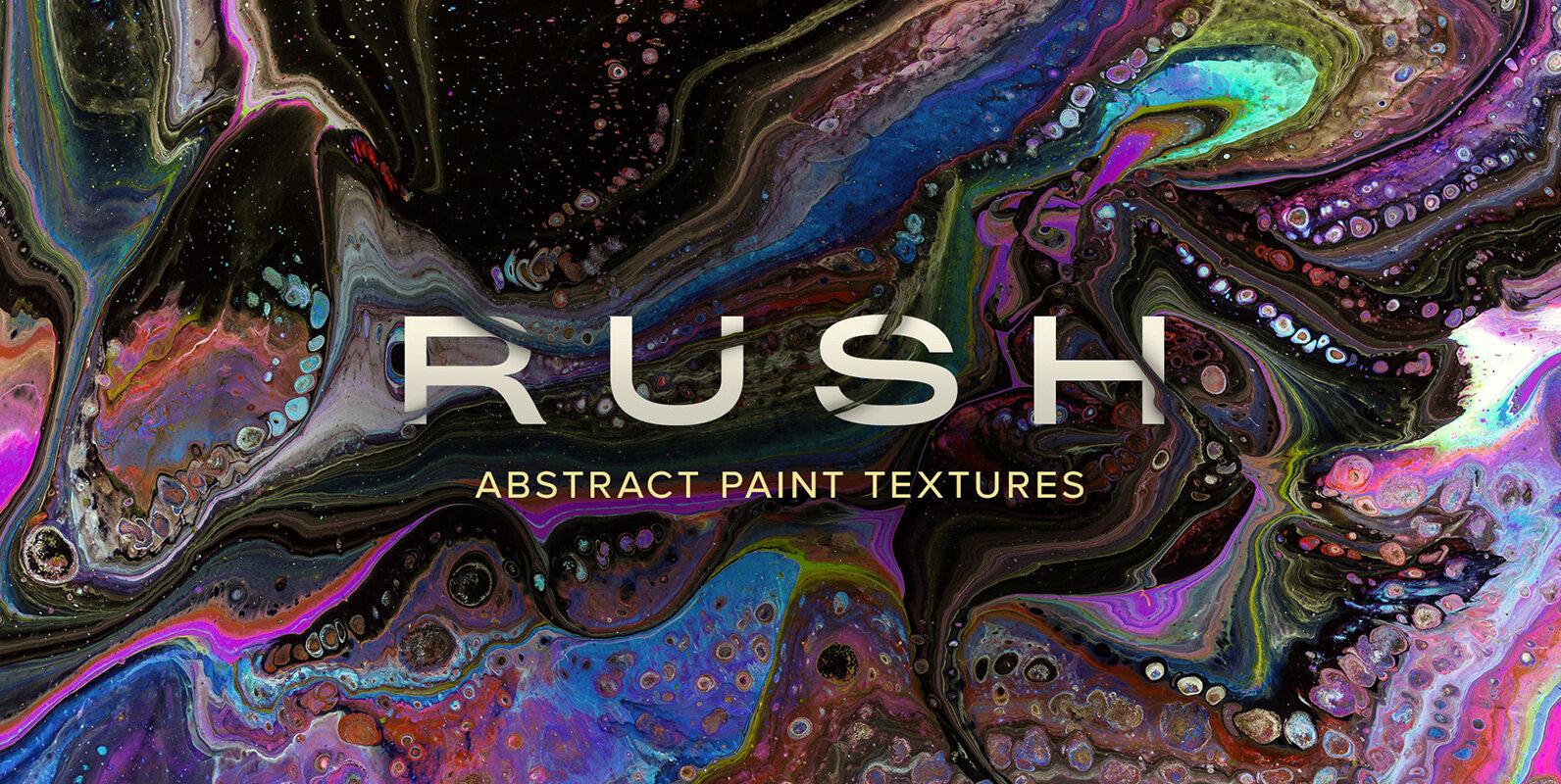 Rush – Super Hi-Res Abstract Paint Textures