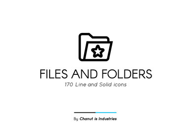 Files and Folders Premium Icon Pack