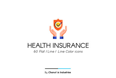 Health Insurance Premium Icon Pack