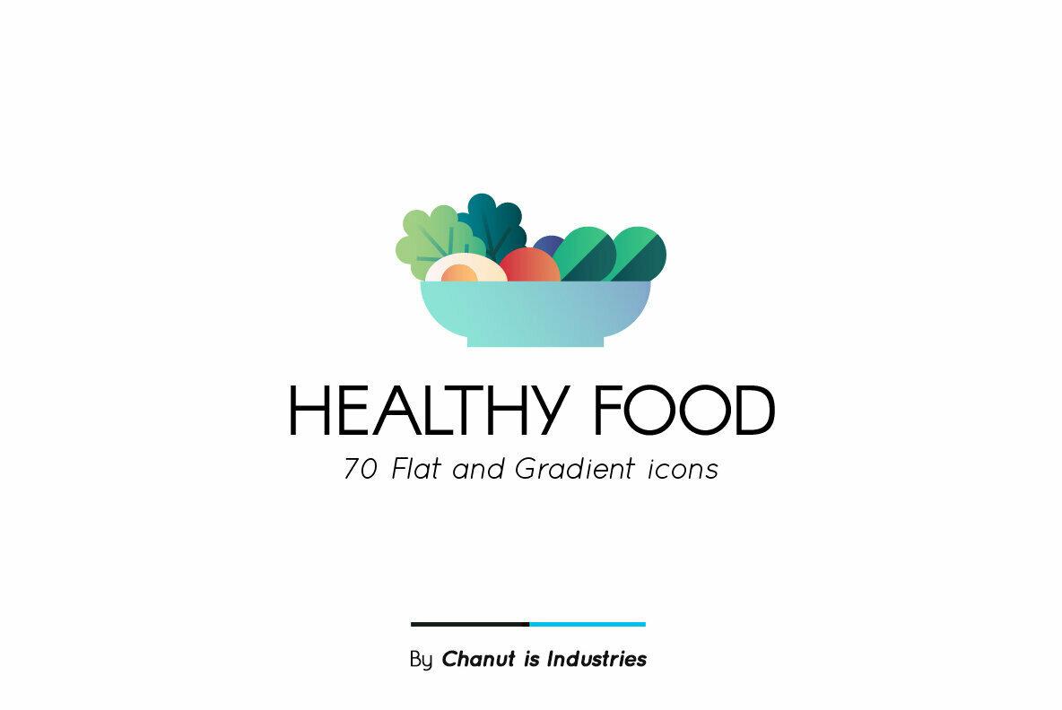 Healthy Food Premium Icon Pack