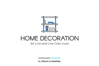Home Decoration Premium Icon Pack
