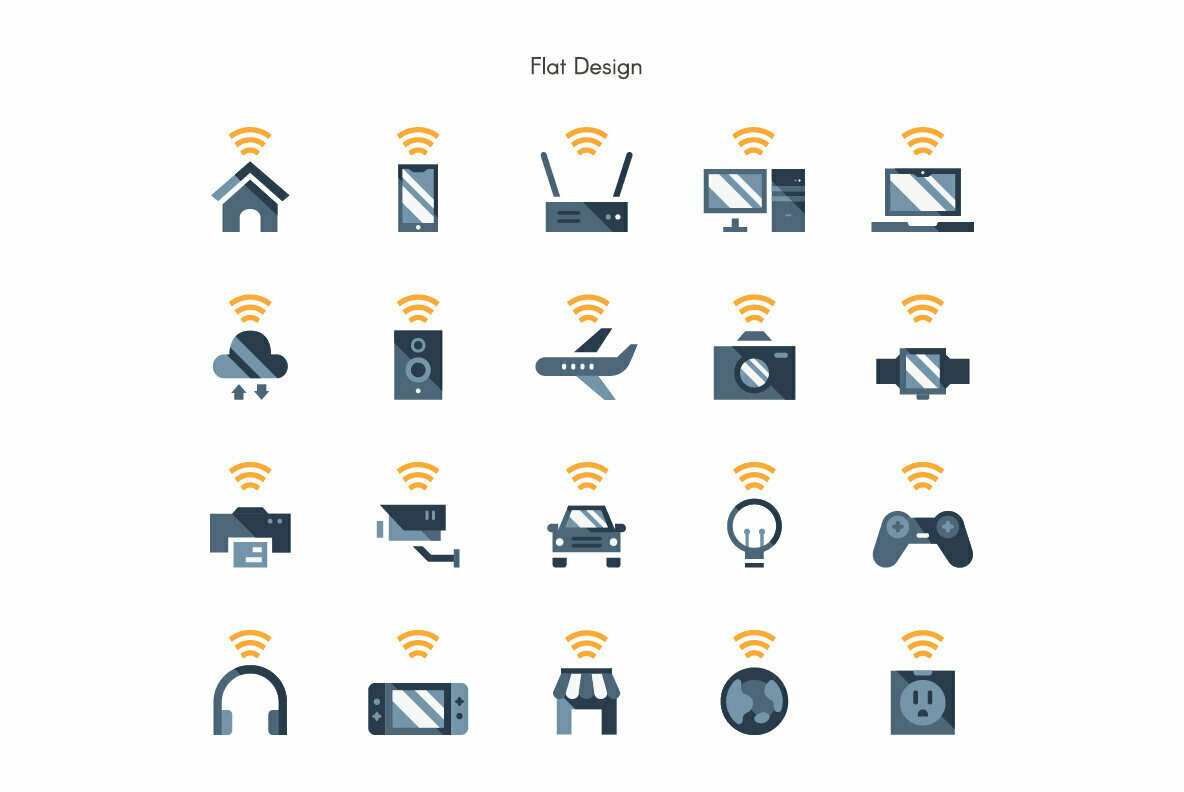 Internet of Things Premium Icon Pack
