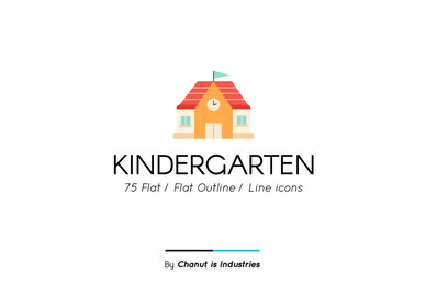 Kindergarten Premium Icon Pack