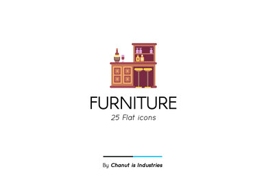 Furniture Premium Icon Pack 01