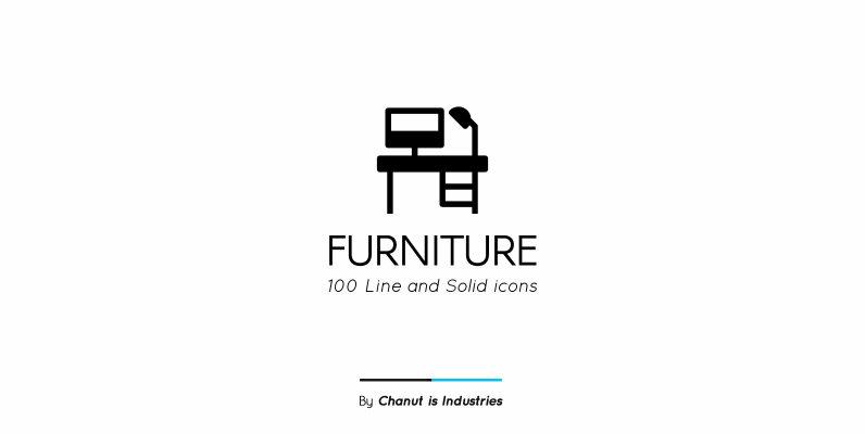 Furniture Premium Icon Pack 02