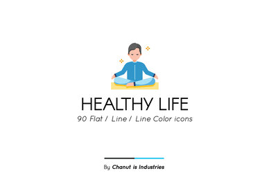 Healthy Life Premium Icon Pack