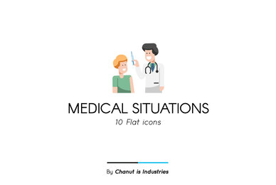 Medical Situations Premium Icon Pack