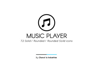 Music Player Premium Icon Pack