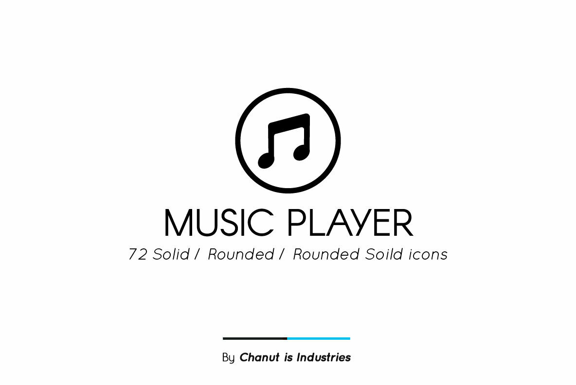 Music Player Premium Icon Pack