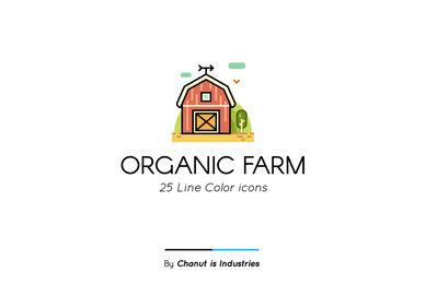 Organic Farm Premium Icon Pack