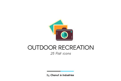 Outdoor Recreation Premium Icon Pack