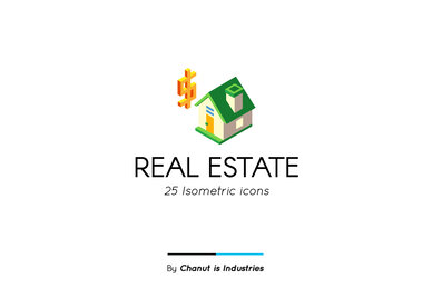 Real Estate Premium Icon Pack