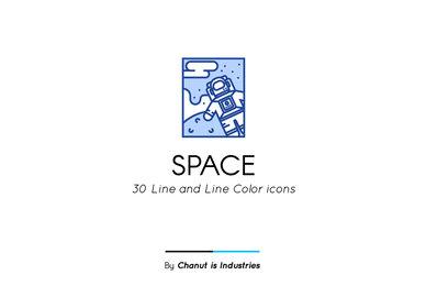 Space Premium Icon Pack 02