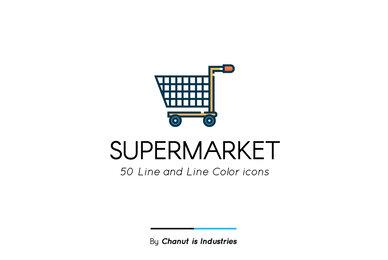 Supermarket Premium Icon Pack