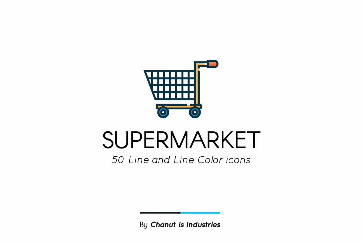 Supermarket Premium Icon Pack