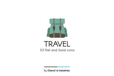 Travel Premium Icon Pack