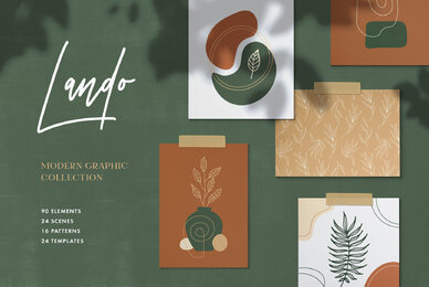 Lando Abstract Graphic Collection