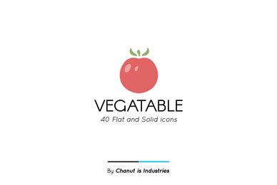 Vegetable Premium Icon Pack