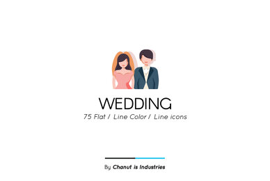 Wedding Premium Icon Pack